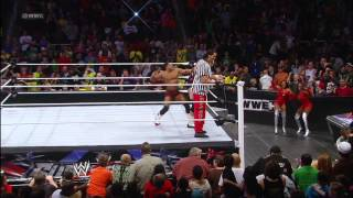 Brodus Clay vs David Otunga: WWE Superstars, Dec. 7, 2012