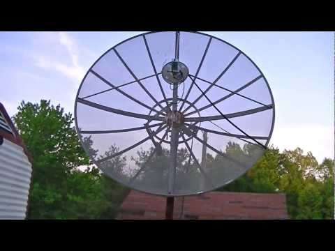 An Old TV Satellite Dish From 1992