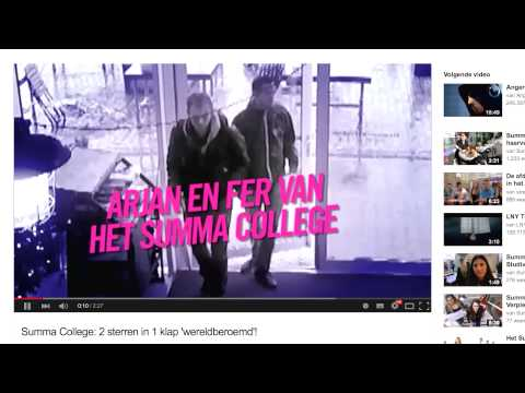 Summa College: Casefilm wervingscampagne 2015