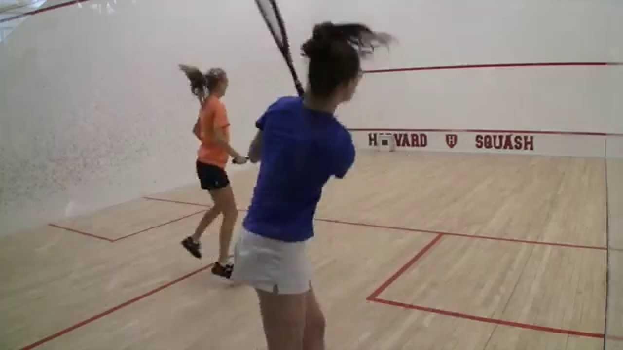 Women's College Squash – 2015 Walker Cup: Virginia and Hamilton #1s