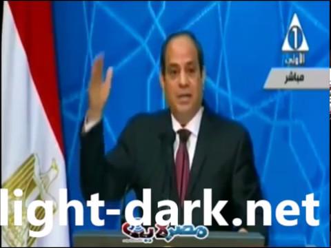 رد الرئيس السيسى على الشيخ سالم عبد الجليل