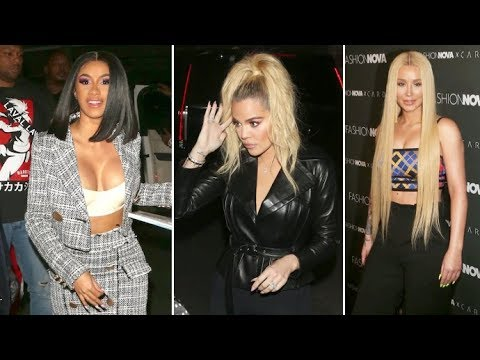 Khloe Kardashian, Iggy Azalea, Christina Milian And More Party With Cardi B At Fashion Nova Launch