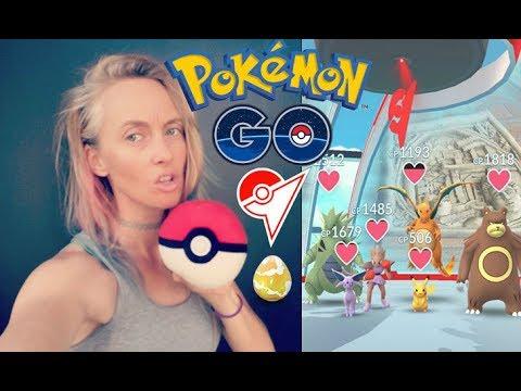 Pokémon GO RAIDS - RARE RAID EGGS LiveStream