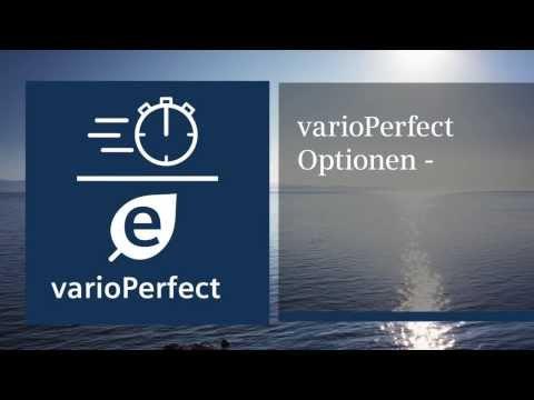 Waschen mit Siemens: varoPerfect Optionen