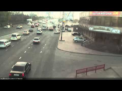 Последствия аварии в Краснодаре 17.11.2013