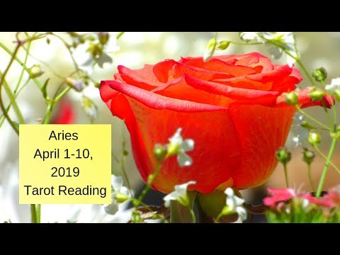 Aries April 1-10, 2019 ~ New Determination Once You Take This Gift  ~ Tarot Reading
