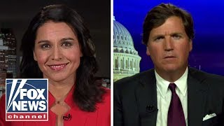 Tulsi Gabbard tells Tucker why she is suing Google
