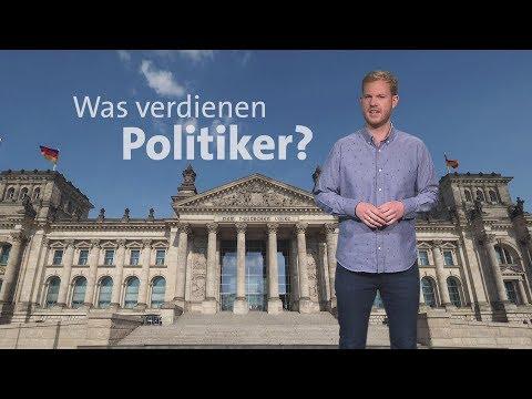 Was verdienen Politiker?