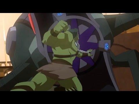 Planet Hulk: Hulk vs The Egg Breaker, King Wildebot