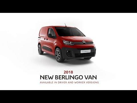 New Citroën Berlingo Van - CitroënPro: the inventor of integrated load cell