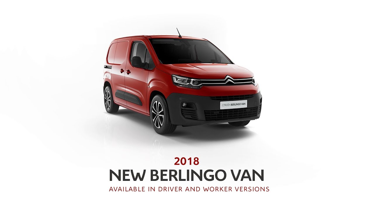 New Citroën Berlingo Van - CitroënPro: the inventor of integrated load cell