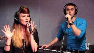 "Karmin perform ""Hello"" Acoustic Live in Smallzy's Surgery on Nova FM"