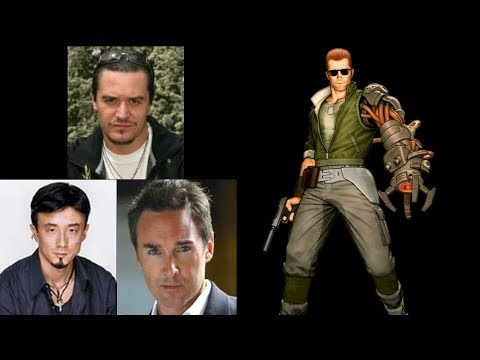 Video Game Voice Comparison- Nathan Spencer (Bionic Commando)