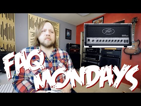 FAQ Mondays: Peavey 6505 MH, Guitar Center & Flying V's