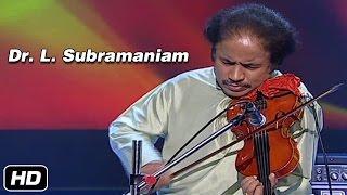 Dr. L. Subramaniam | Raag - Gauri Manohari | Taal - Aditaal | Idea Jalsa