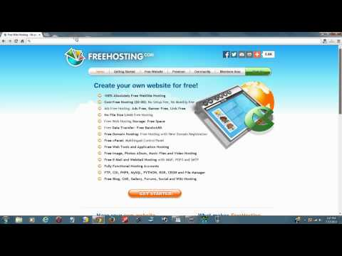 The Top 10 Free Website Hosting Services With No Ads For 2014 – Best Free Web Hosting Providers List
