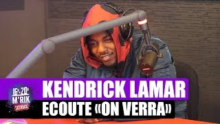 "Kendrick Lamar écoute ""On verra"" de Nekfeu"