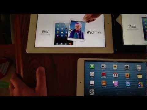 Apple iPad mini 32 GB White - Review and First Look