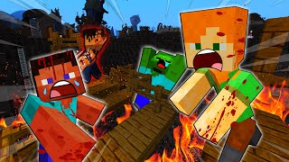 STEVE And ALEX ATTACKED By SERIAL KILLER - MINECRAFT STEVE AND ALEX [221]