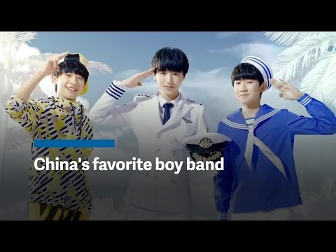 """We're The Future Of Communism"": Meet China's Favorite Boy Band"