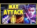 1v9 MAX ATTACK VAYNE TOP LANE IS 100% STUPID! VAYNE SEASON 8 TOP GAMEPLAY! - League of Legends