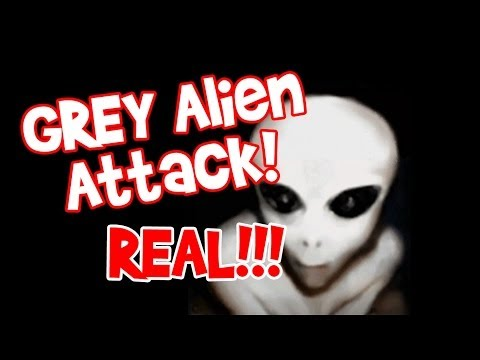 Grey Alien Attack – Real
