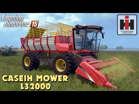Case IH L32000 Mower for Farming Simulator 2017 v2