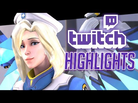 Weirdo MERCY Main - Overwatch Twitch Highlights & Fails | STAR2D2