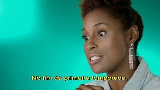 Insecure é uma série protagonizada Issa Rae, Yvonne Orji, Jay Ellis e Lisa Joyce. Se baseia em amizade, experiências e...