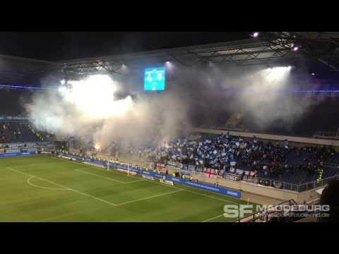 Video: MSV Duisburg - 1. FC Magdeburg: Choreo in der zweiten Halbzeit am 24.02.2017