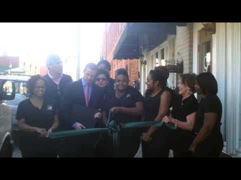 Spa Lenore Ribbon Cutting