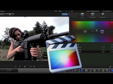 final cut pro x - More video training: http://finalcutking.com/training/final-cut-x-basics/ Tweet this! http://bit.ly/kLgHsF Facebook page: http://www.facebook.com/thefinalcut...