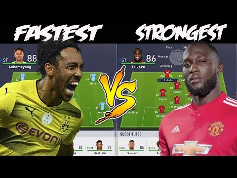FASTEST TEAM ⚡ VS STRONGEST TEAM 💪! �🤔� FIFA 18 EXPERIMENT! HOT PEPPER FORFEIT🌶!