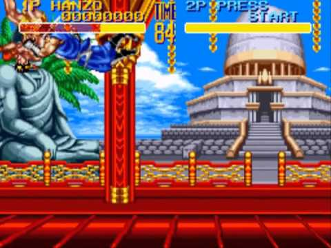 World Heroes 2 PC Engine