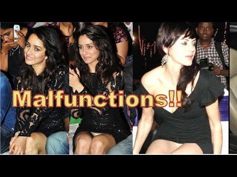 Bollywood Actresses Most Embarrassing on Public Wardrobe Malfunctions