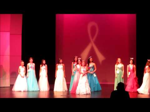 Queens For A Cure 2014 Jr. Teen Crowning