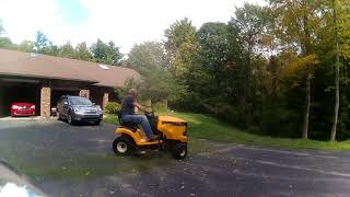 5. 1st time cutting with Cub Cadet XT1 Enduro Series LT 42 in. 18 HP Kohler