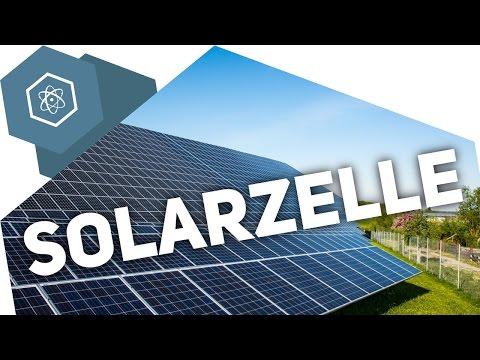 Wie funktioniert eine Solarzelle?