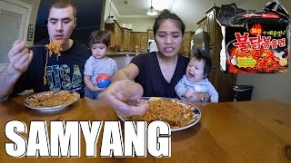 Video AMERICAN VS INDONESIAN SAMYANG CHALLENGE VLOG MP3, 3GP, MP4, WEBM, AVI, FLV Oktober 2017