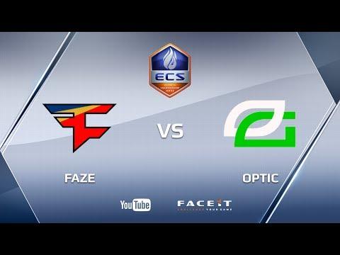 Faze vs Optic, overpass, ECS S3 Finals