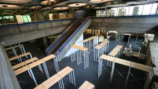 Zeitraffer: ekz erneuert Einreichtung der Stadtbibliothek Sindelfingen