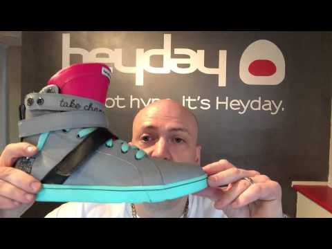 Heyday Footwear x Bella Falconi High Top Sneaker Collab