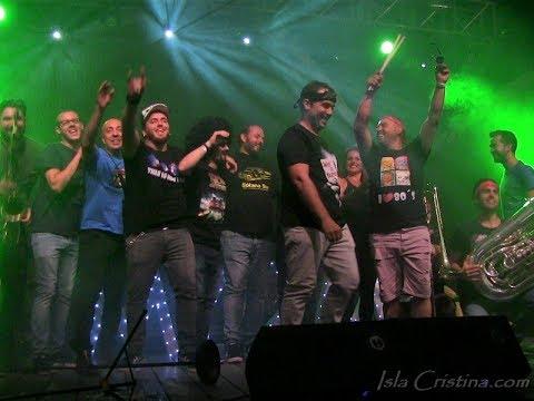 Concierto de SÓTANO SUR Fiesta de los 80's Isla Cristina FC