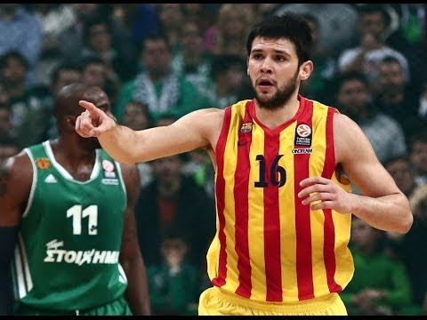 Kostas Papanikolaou's Highlights (Panathinaikos vs. Barcelona ● 31/01/14)