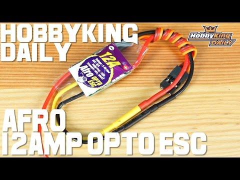 Afro ESC 12Amp OPTO Ultra Lite - HobbyKing Daily