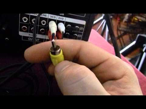 HOW to hook up simple professional karaoke system