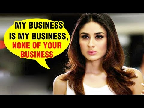 Kareena Kapoor Says Her Time With Taimur Is None O