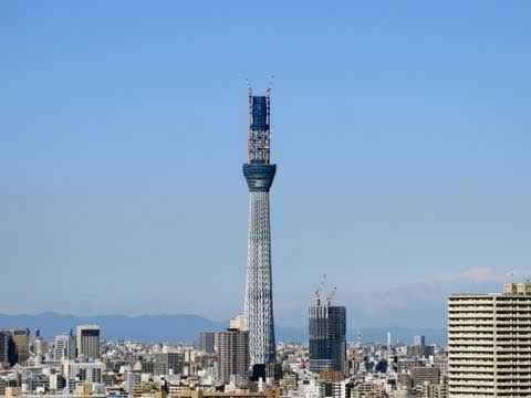 """Tokyo Sky Tree fixed point observation."" Image"