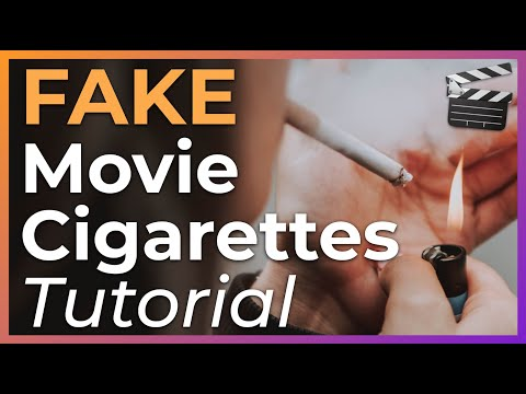 How To Make FAKE Movie Cigarettes