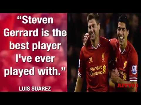 Steven Gerrard Tributes And Quotes